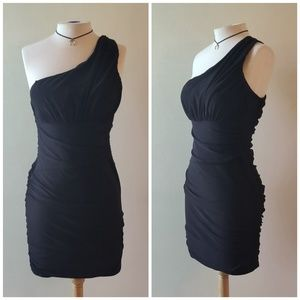 B.Darlin | Fitted One Shoulder Dress